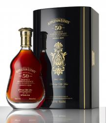 Appleton Estate 50 Year Old Jamaica Rum – Jamaica Independence Reserve label unavailable