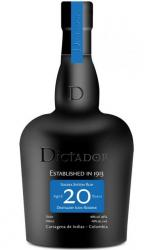 Dictador 20 label unavailable