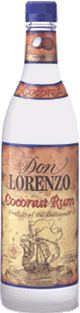 Don Lorenzo Coconut Rum label unavailable
