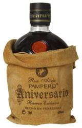Pampero Anniversario label unavailable
