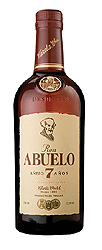 Ron Abuelo 7 Años Reserva Superior label unavailable