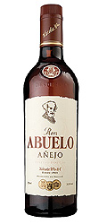 Ron Abuelo Añejo label unavailable