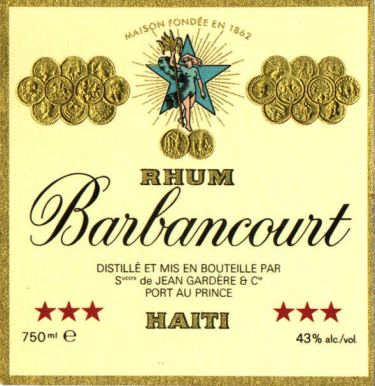 Barbancourt Three Star label unavailable