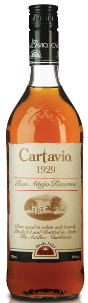 Ron Cartavio Añejo Reserva label unavailable