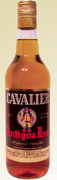 Cavalier Antigua Rum (Dark) label unavailable
