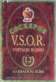Cockspur VSOR label unavailable