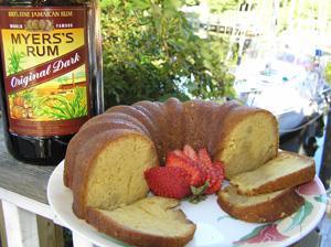 Vanilla Bean Rum Cake Recipe