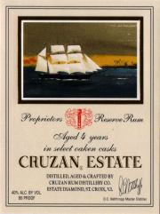 Cruzan Estate Diamond label unavailable