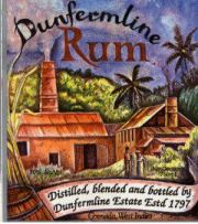 Dunfermline Rum label unavailable
