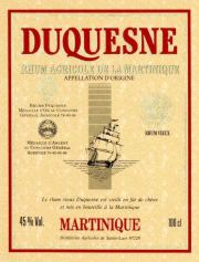 Duquesne Rhum Viuex label unavailable