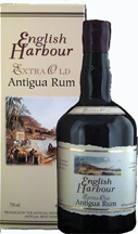English Harbour Extra Old Rum label unavailable