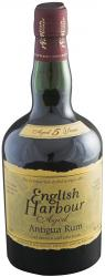 English Harbour Five Year Old Antigua Rum label unavailable