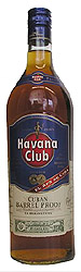 Havana Club Barrel Proof label unavailable