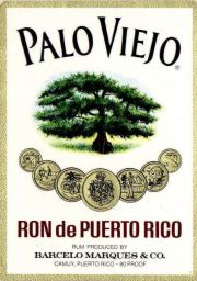 Palo Viejo Dark Rum label unavailable