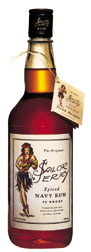 Sailor Jerry Spiced Navy Rum label unavailable